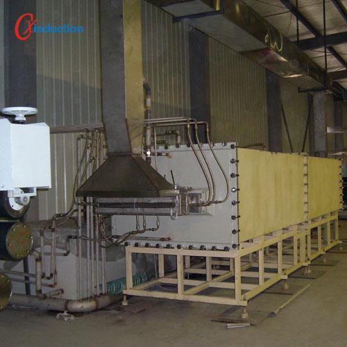 连续碳化炉展示